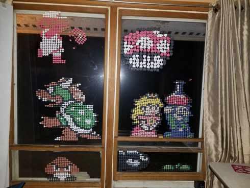 Nintendo Characters Pixel Art