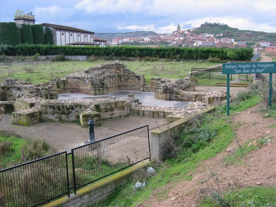 San Juan de Acre con Navarrete al fondo