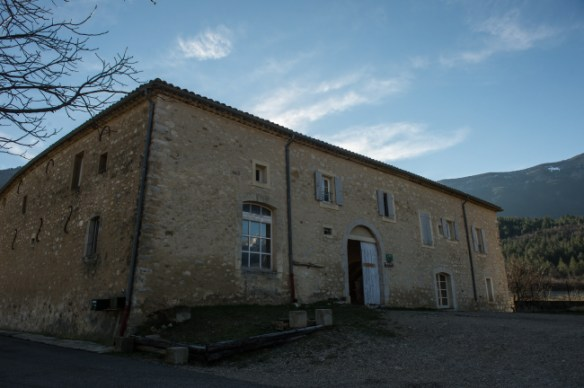 L'imposante ferme Saint Agricol.