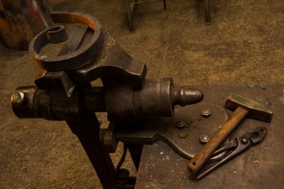 L'outil de forge.