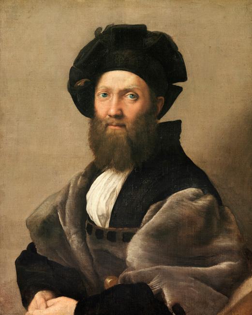 Raphaël - Baltassare castiglione 1514/1515