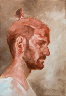 Portrait de Ruben (huile sur carton toilé 55x38 cm)