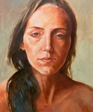 Portrait (huile sur toile 54x65 cm)
