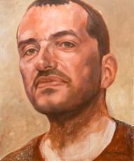Portrait de Loïc (huile sur toile 54x65 cm)