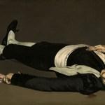 Édouard Manet, l'homme mort.