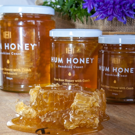 Hum Honey Original with Comb