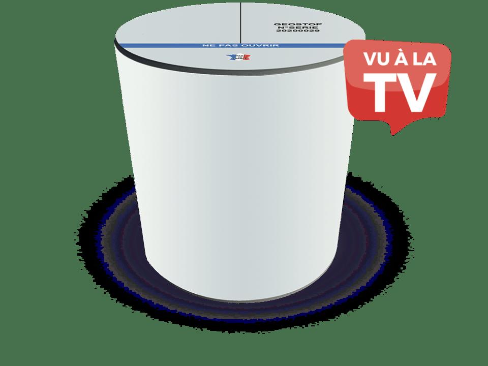 Boitier assèchement géomagnétique des murs