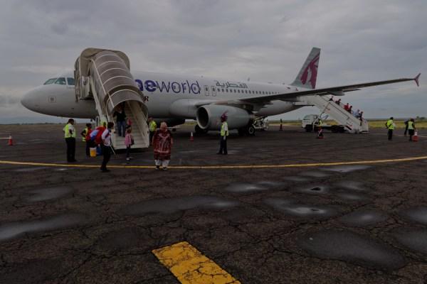 Unser Shuttle zum Kilimanjaro
