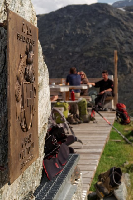 Die Topalihütte gehört der SAC-Sektion Genf