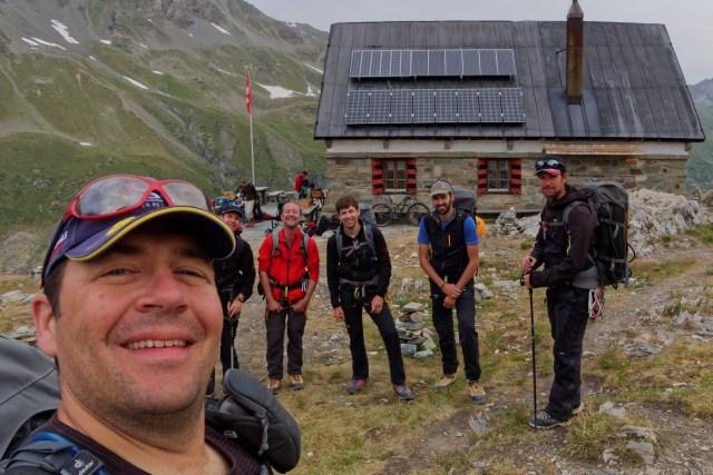 Gruppenfoto vor dem Abmarsch