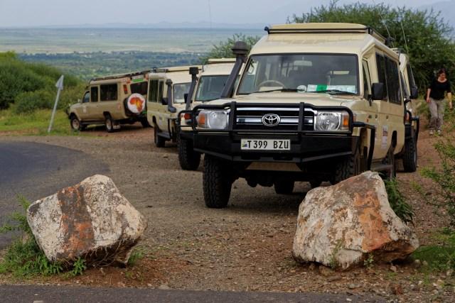 Auf der Fahrt zum Ngorongoro-Krater gibt's einen Zwischenstopp...