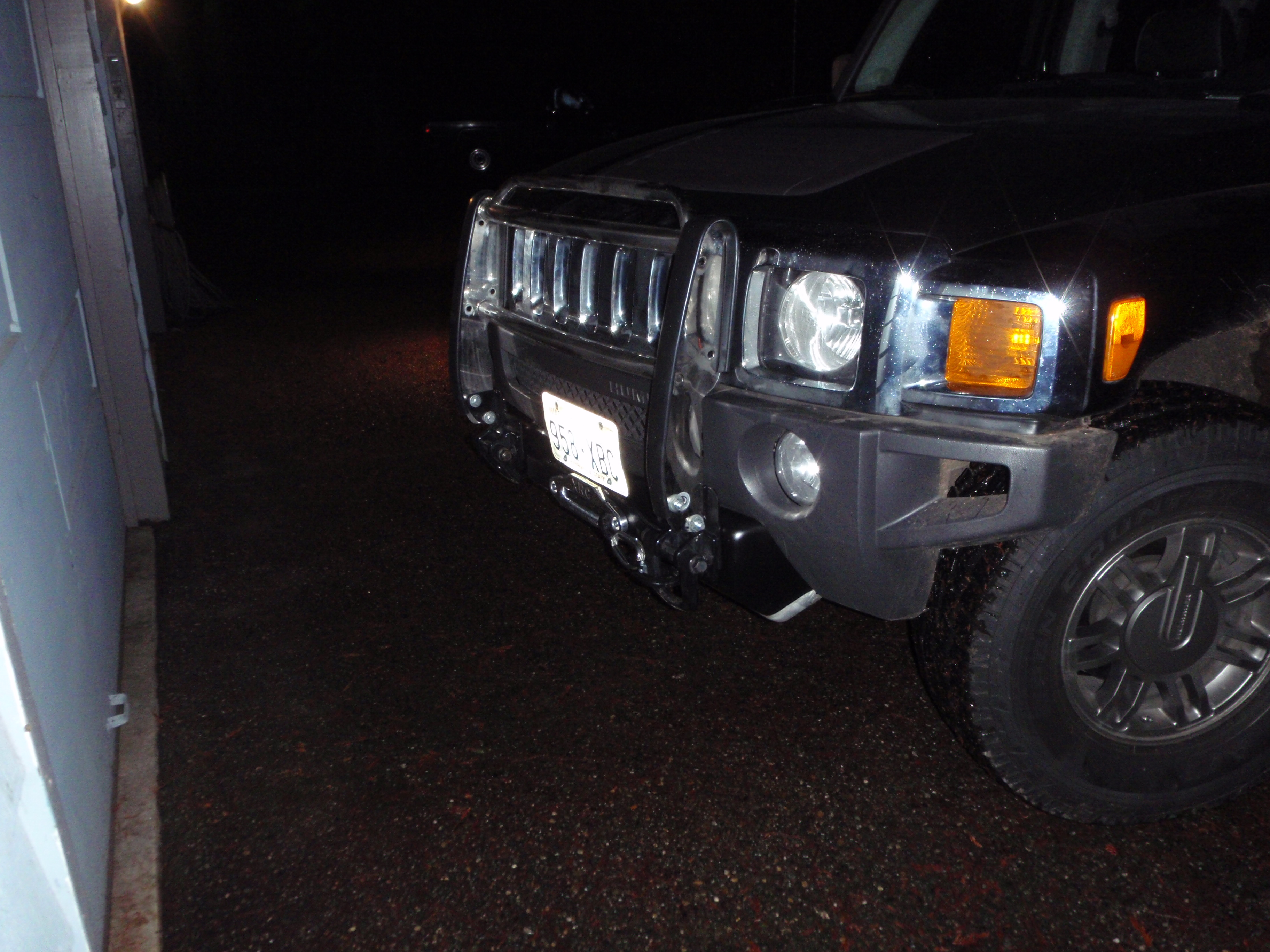 Winch install H3 Alpha Hummer Forums Enthusiast Forum for