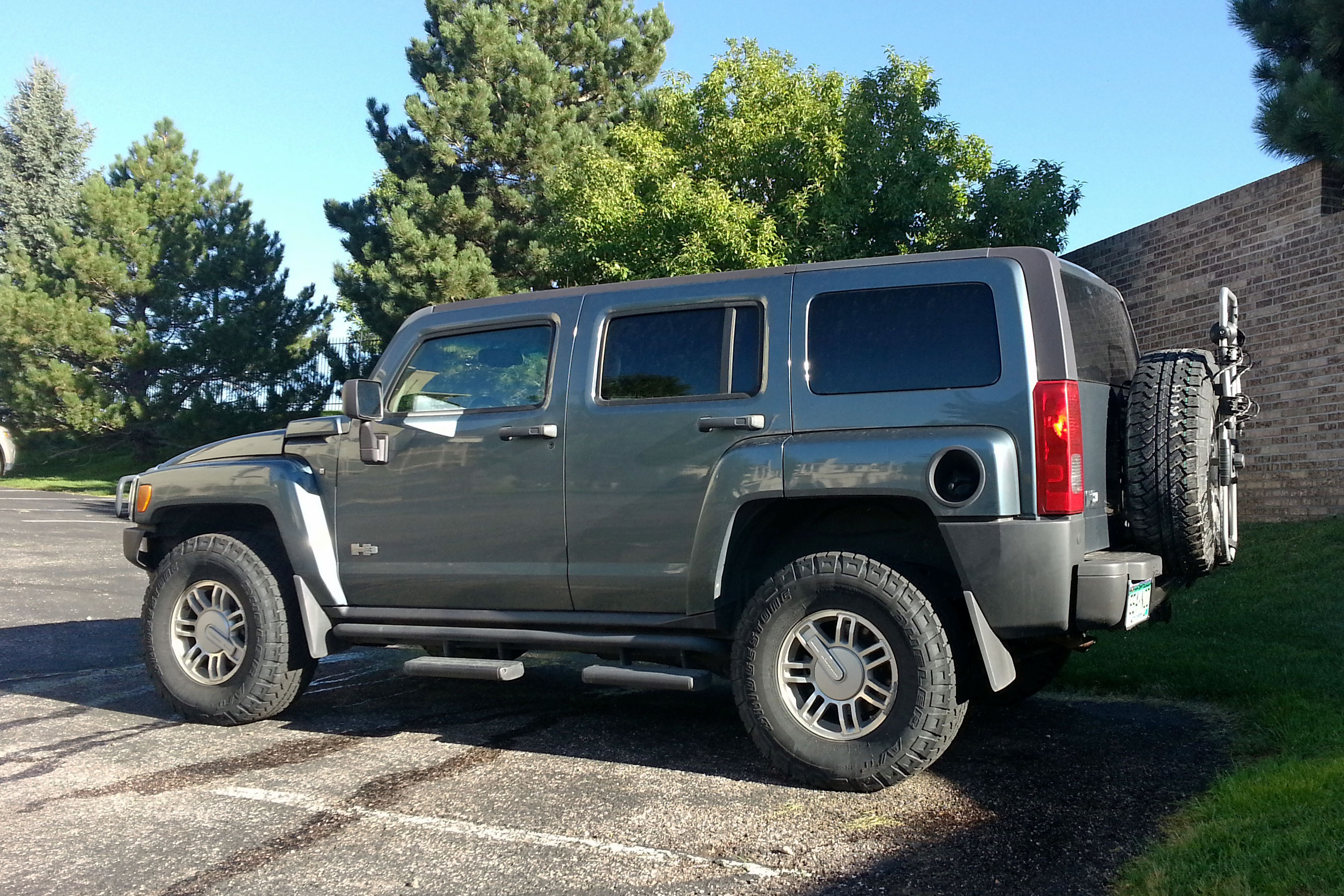 2006 Hummer H3 Adventure Package with Blown Engine miles