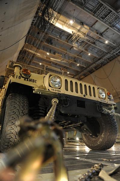 Humvee in Galaxy C-5