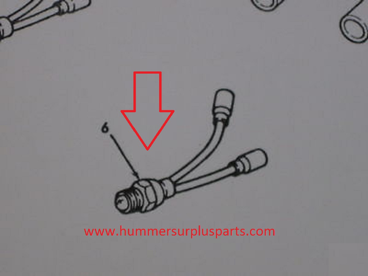 Hmmwv Headlight Wiring Harness 30 Diagram Images Schematic Backup Light Pressure Switch 12338435 5579050 5930 01 212 3373 Diagramfit