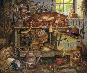 Charles Wysocki - Remington the Horticulturist