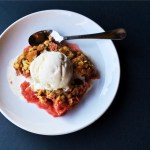 Strawberry Rhubarb Crisp featured