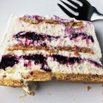 Blueberry-Lemon Icebox Cake