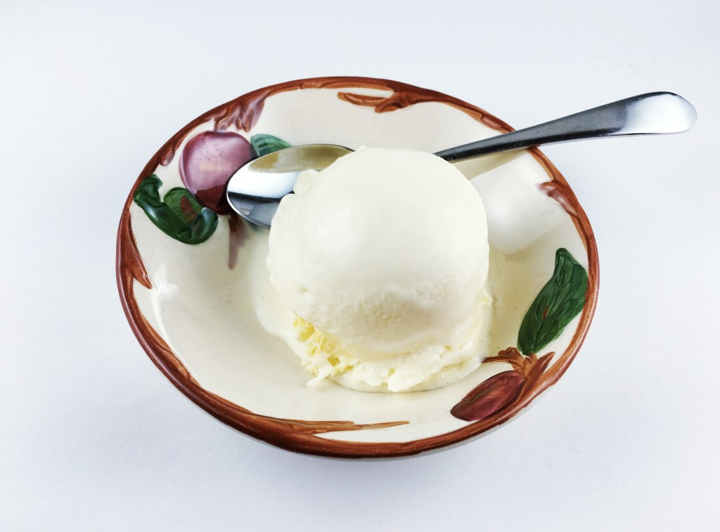 Buttermilk Lemon Ice Cream
