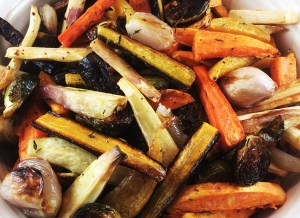 Root Vegetables Roasted