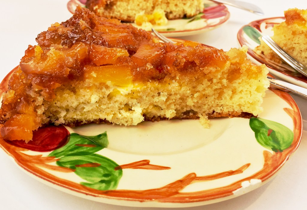 Pineapple Upside-Down Dessert