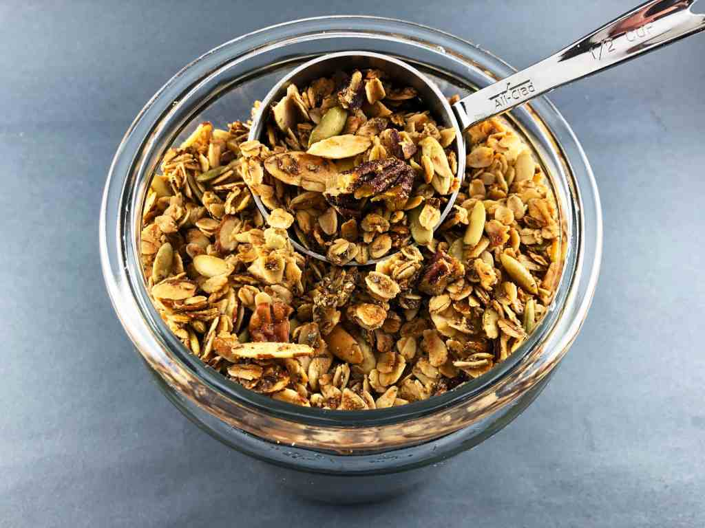 Homemade Nutty Granola