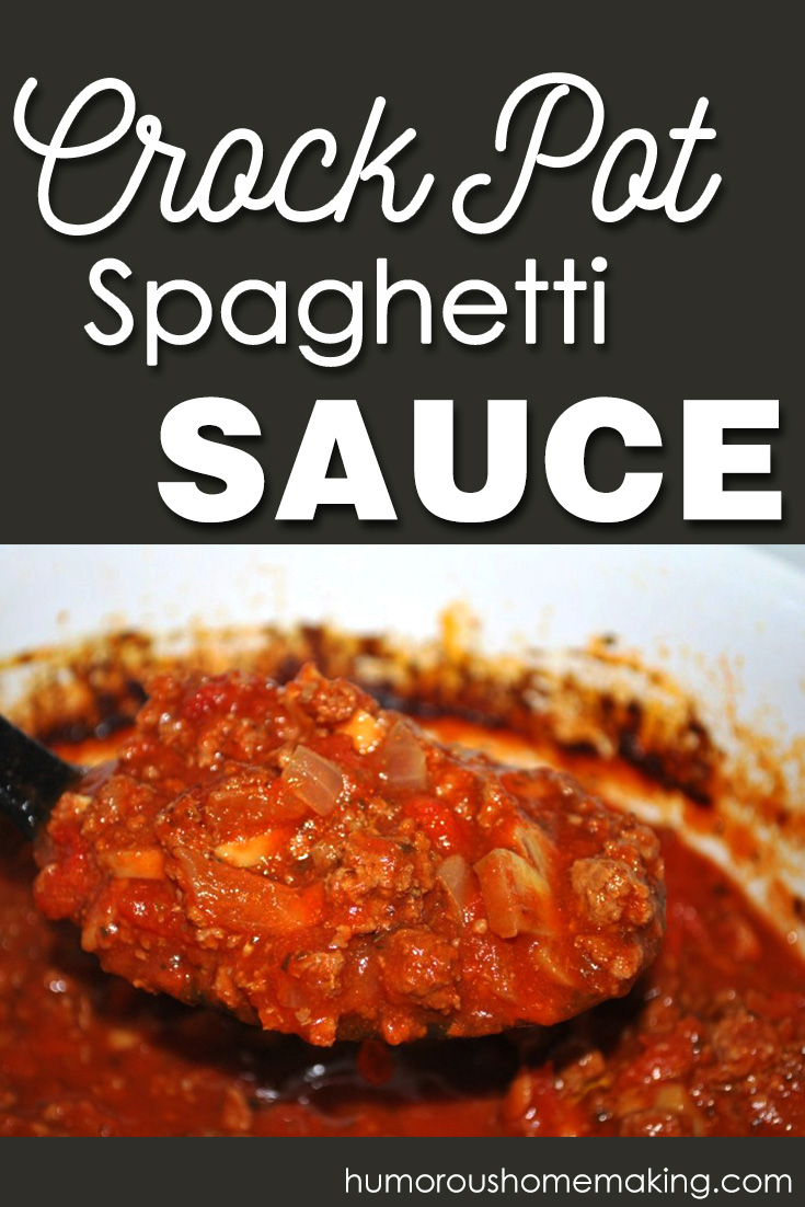 This Crockpot Spaghetti Sauce will definitely earn a regular spot on your meal plan! It makes a ton, so you can freeze it for later as well.