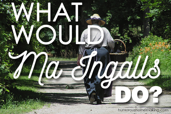 what would ma ingalls do