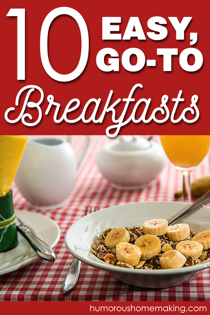 10 easy breakfast recipes