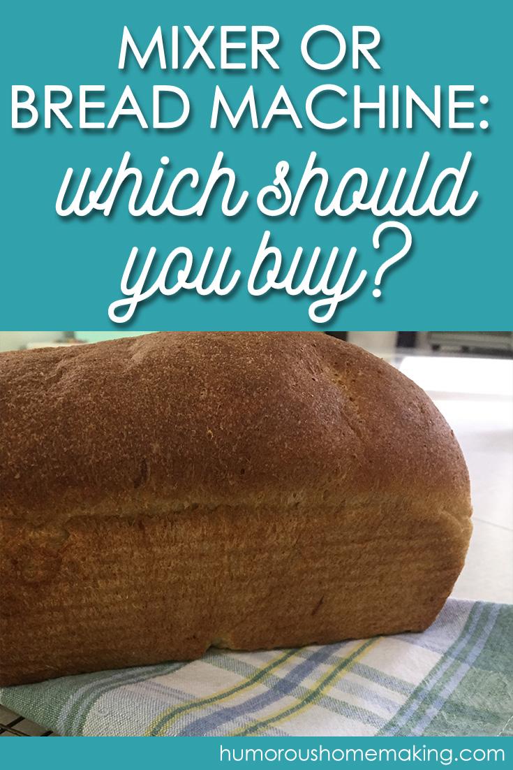 mixer vs bread machine