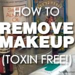 remove makeup toxin free