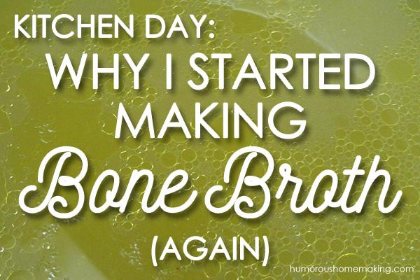 making bone broth
