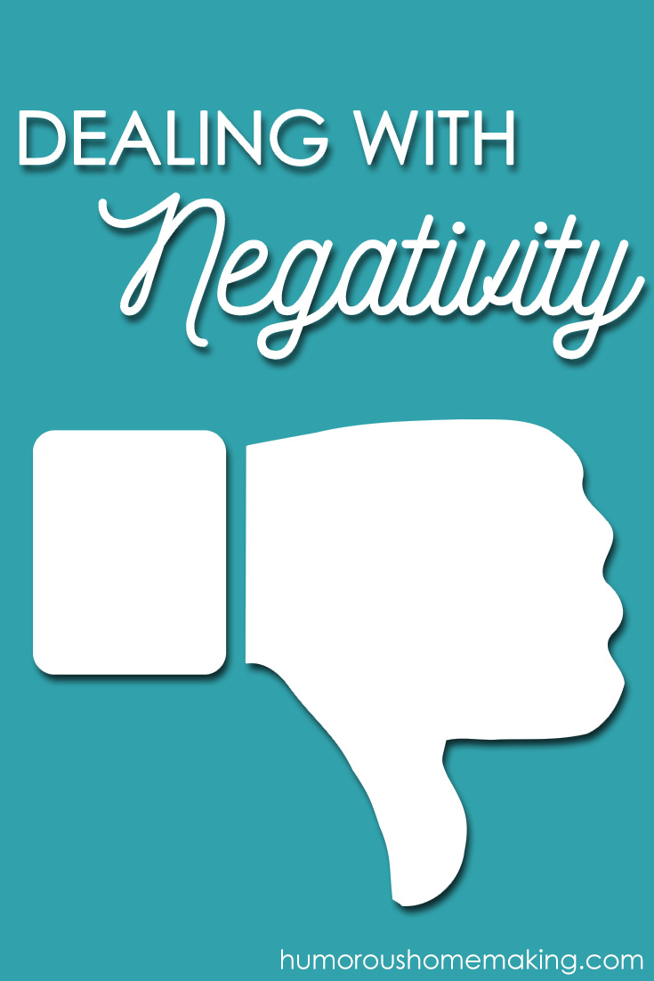dealing with negativity