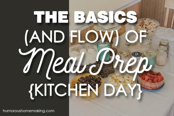 basics of meal prep