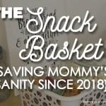 snack basket for kids