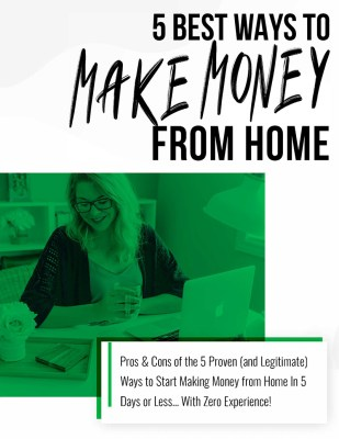 five ways to make money from home