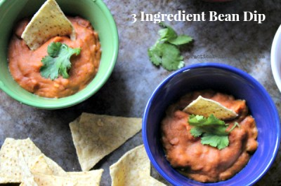 3 Ingredient Bean Dip