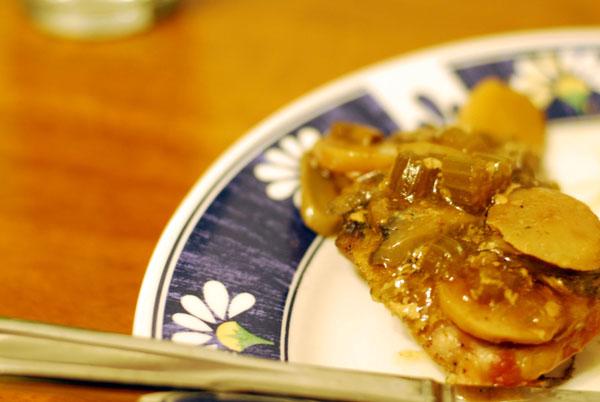 Crock Pot Oriental Pork Chops