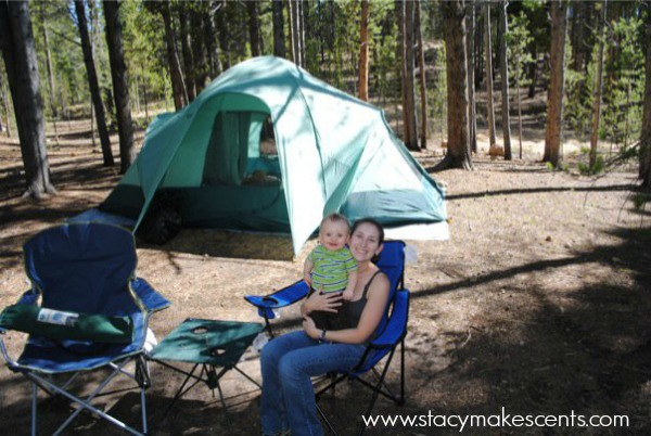 Camping Saves Money on Costly Accomodations