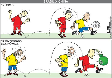 Olé do Brasil, Olé da China