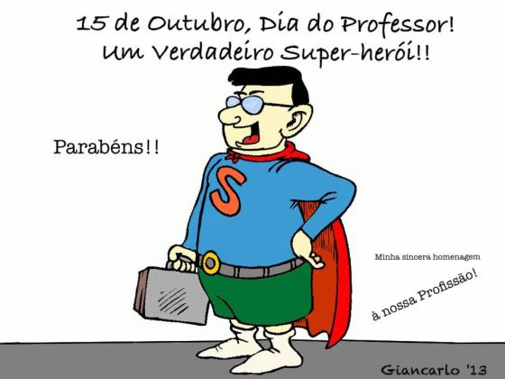 Dia do Super Herói Professor
