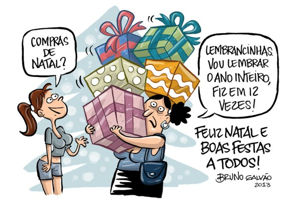 Consumismo desenfreado do Natal