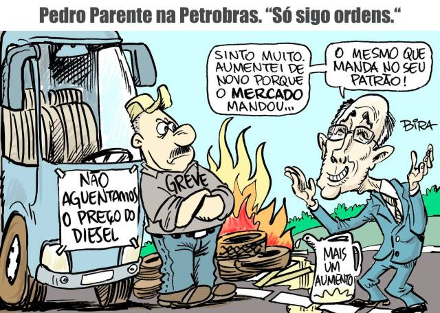 Pedro Parente a mando do Mercado