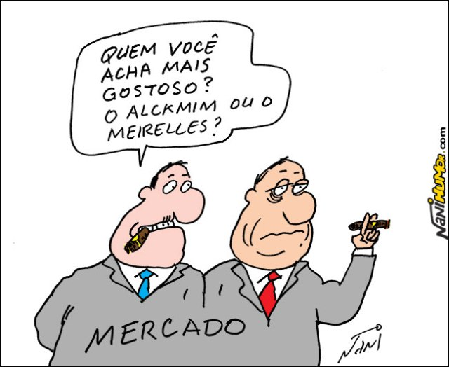 Meirelles e Alckmin, os candidatos do Mercado