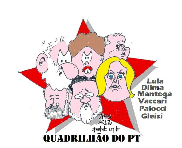 Quadrilha do PT