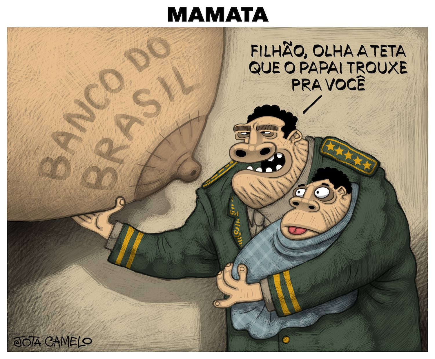 A Mamata do General Mourão