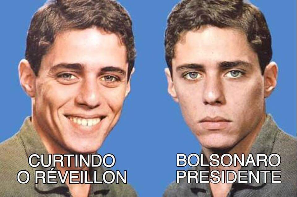 Meme Chico Buarque Reveion e Posse do Bolsonaro