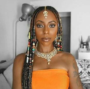 Beautiful Fulani Braids With Beads Hairstyle - December 2018 Collection