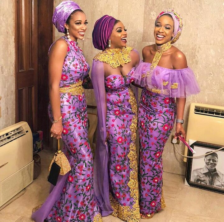 Hair Style For Wedding Guest 2018: Latest Lace Aso Ebi Styles 2019 Catalogue For Ladies