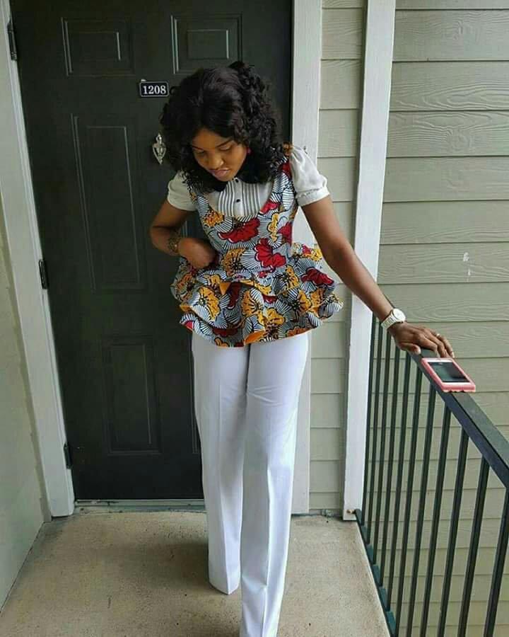ankara corporate blouse